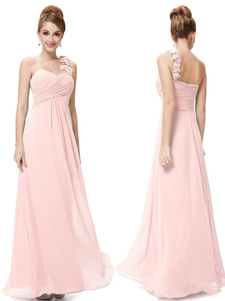 Элегантные платья невесты на одно плечо, шифоновое платье А силуэта для выпускного вечера, длинное свадебное платье, индивидуальный пошив,