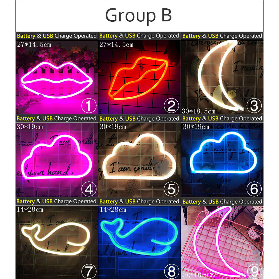 cheap lampadas de neon tubos 02