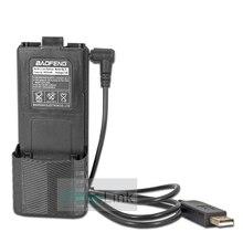 Baofeng UV 5R Battery 3800mAh UV-5R Walkie Talkie Charger USB Cable BF-F8 UV5R UV-5RE UV-5RA 5RB 5RL Walkie-Talkies Accessories