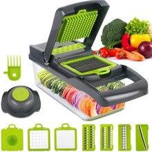 Household Manual ALL IN ONE superior nice vegetable Slicer Vegetable Salad Fruit Cutter Slicer Dicer Chopper