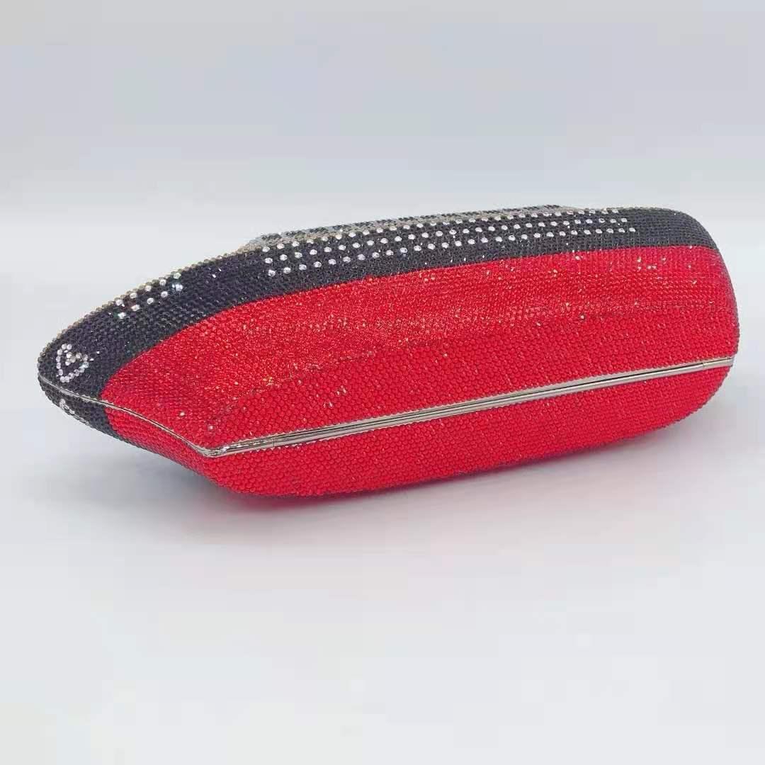 carteira embraiagens sacos senhoras designer cristal bolsa