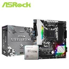 Asrock B450M B450 anakart set ile Ryzen 7 2700 AM4 CPU İşlemci