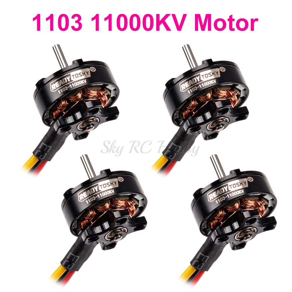 Micro D1103 1103 11000KV <font><b>2s</b></font> Mini Brushless <font><b>Motor</b></font> for RC 80mm 90mm X95 95mm Mini Tiny Multirotor Drone image