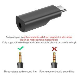 Image 5 - Adaptador de Audio de bolsillo para DJI Osmo Pocket, USB C a 3,5 MM