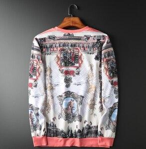 Image 2 - Hoodie Sweatshirt Herren Hip Hop Pullover Hoodies Streetwear Casual Mode Kleidung Britischen design hoodie 2020 baumwolle
