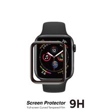 Tempered film Glass For iWatch 40mm 44mm 38mm 42mm Curved Edge Screen Protector For Apple Watch 5 4 3 2 1 Non-tempered glass tempered glass 3d full coverage protector for apple watch 4 curved screen edge protective film for iwatch series 40mm 44mm