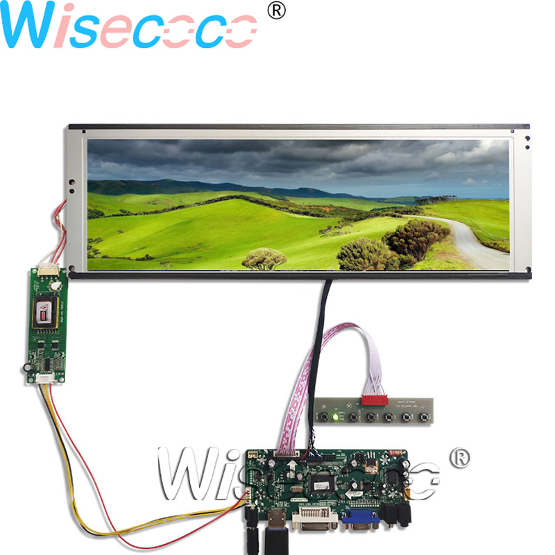 14.9 inch Native bar LTA149B780F 1280*390 2CCFL Backlight LCD panel screen with 20 pins DVI VGA LVDS driver board-in Mobile Phone LCD Screens from Cellphones & Telecommunications