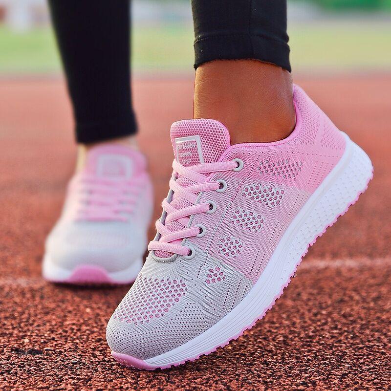 Women Shoes Super Light Sneakers For Women Vulcanize Shoes Sport Basket Femme Walking White Sneakers Women