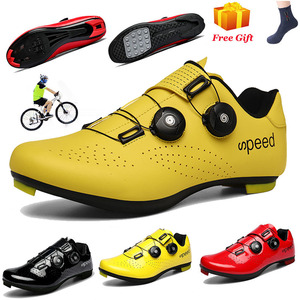 High Quality MTB Cycling Shoes Men Carbon Fiber Road Bike Shoes Racing Bicycle Sneaker Women Self-Locking Cycling Sport Shoes