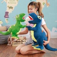 Multi Size and Multi Style Cartoon Dinosaur Stegosaurus Huge Tyrannosaurus Rex Plush Dolls Stuffed Toys Presents for Boys  Gifts