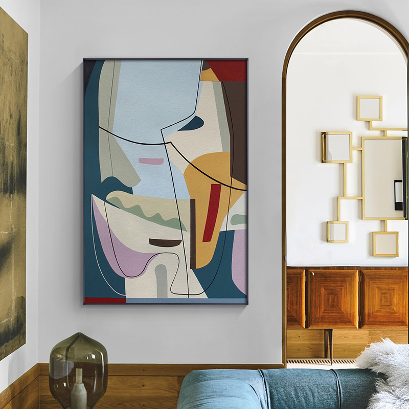 Picasso Famous Abstract Painting Line Art Canvas Poster Print Minimalist Wall Art Pictures for Living Room Nordic Home Decor