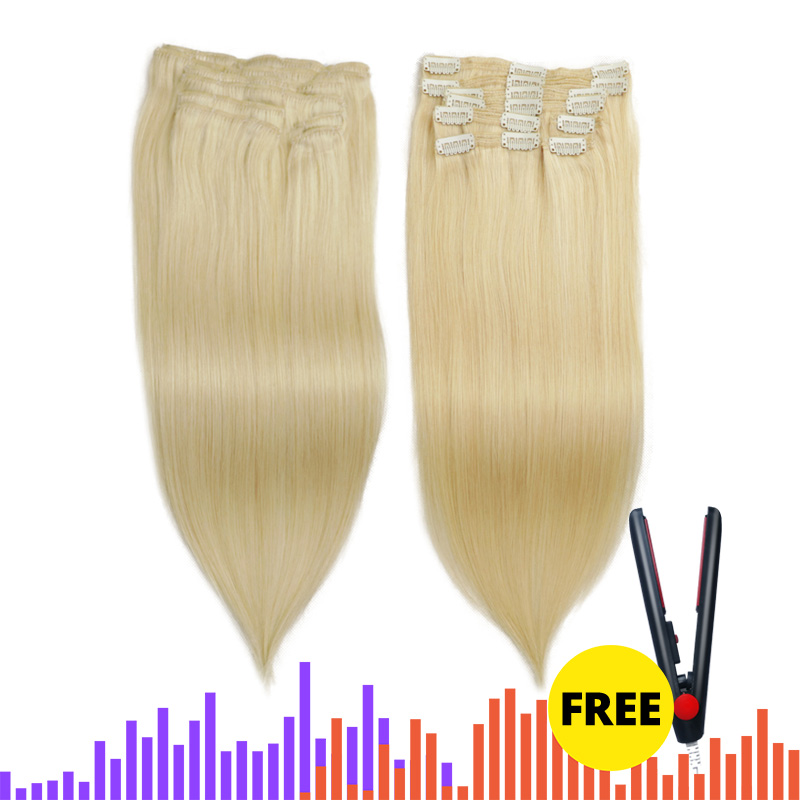 Isheeny Remy Human Hair Clip In Extensions 12