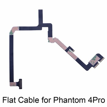 Cable plano de cinta Cable Flexible suave Cable Flexible Cámara Gimbal reparación para DJI Phantom 4 PRO reemplazo avanzado de piezas de repuesto
