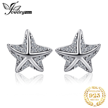 Jewelrypalace 925 Sterling Silver Summertime Glitter Stud Ea