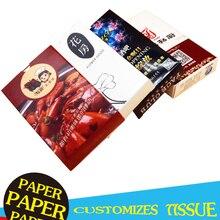 Napkin Tissue Box Cigarette-Box Small-Box Advertising Customized Smoking