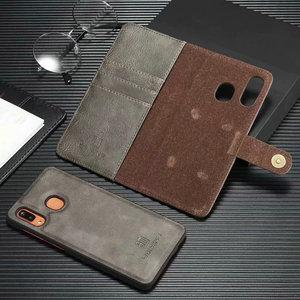 Image 4 - 2 en 1 Couverture Pour Samsung Galaxy A10 A20 A30 A40 A50 A70 A30S A50S étui en cuir véritable Détachable Flip Portefeuille Peau Livre A51 A71 Sac