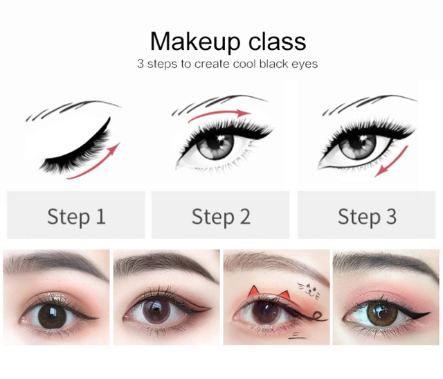 Liquid Eye Liner Pen Pencil Black Waterproof Lasting Anti-stain Not blooming Eyeliner Eye Makeup Beauty Cosmetic Tool New TSLM1 3