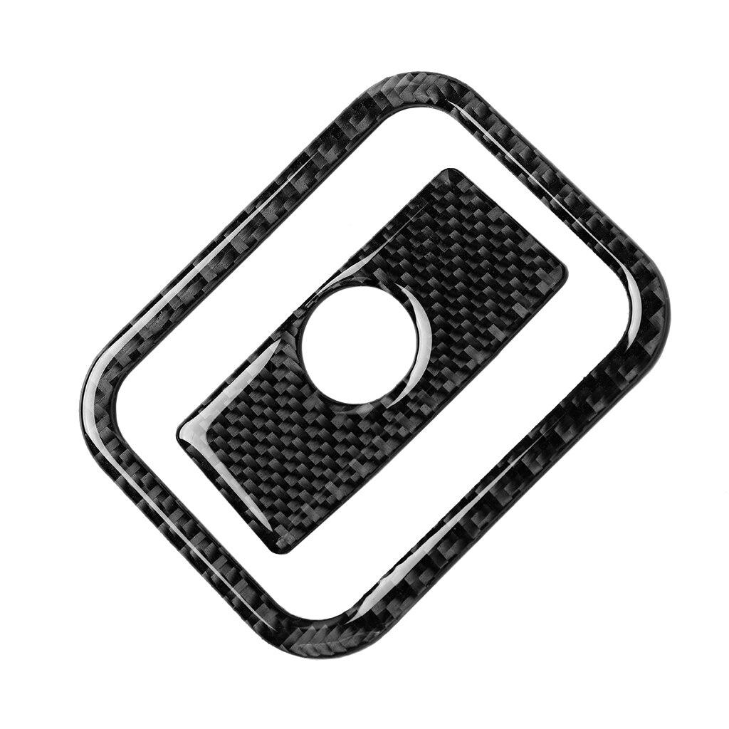 Fibre de carbone voiture siège passager boîte de rangement garniture autocollants pour Toyota Land Cruiser Prado 150 J150 LC150 2010-2018