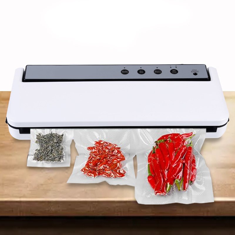 Vacuum Sealer Food Saver, Automatic Vacuum Air Sealing System For Food Preservation, Dry & Moist Food Modes, 4 In 1 Food Sealer