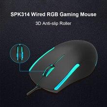 3 tasten Verdrahtete Optische Mäuse für Laptop Desktop-Computer RGB Gaming Maus Laptop Computer Ergonomische Mäuse Stille