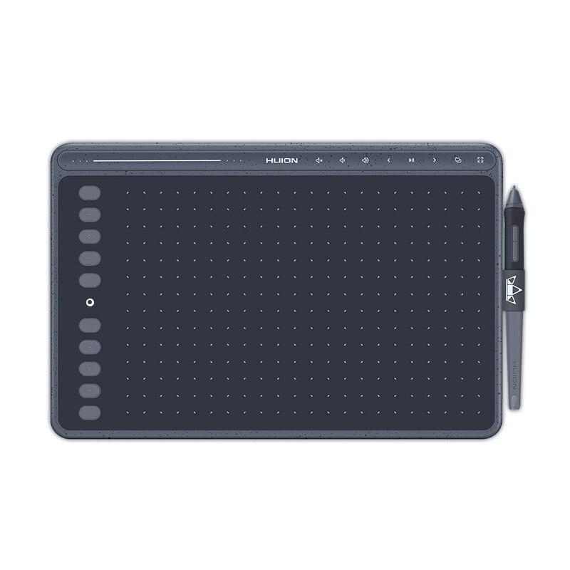Tavoletta grafica HUION HS611 tavoletta grafica senza batteria supporto inclinazione a tre colori Touch Bar e tasti Express