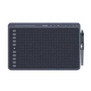 HUION HS611 планшет для рисования без батареи графический планшет три цвета поддержка наклона Сенсорная панель и экспресс-ключи