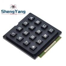 ShengYang-matriz de matriz 4x4, 16 teclas, 4*4 interruptores, módulo de teclado para Arduino
