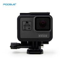 Пластиковый стандартный защитный чехол Go Pro Hero 5 с рамкой для GoPro Hero 5 Hero6/7 черный аксессуар для экшн-камеры