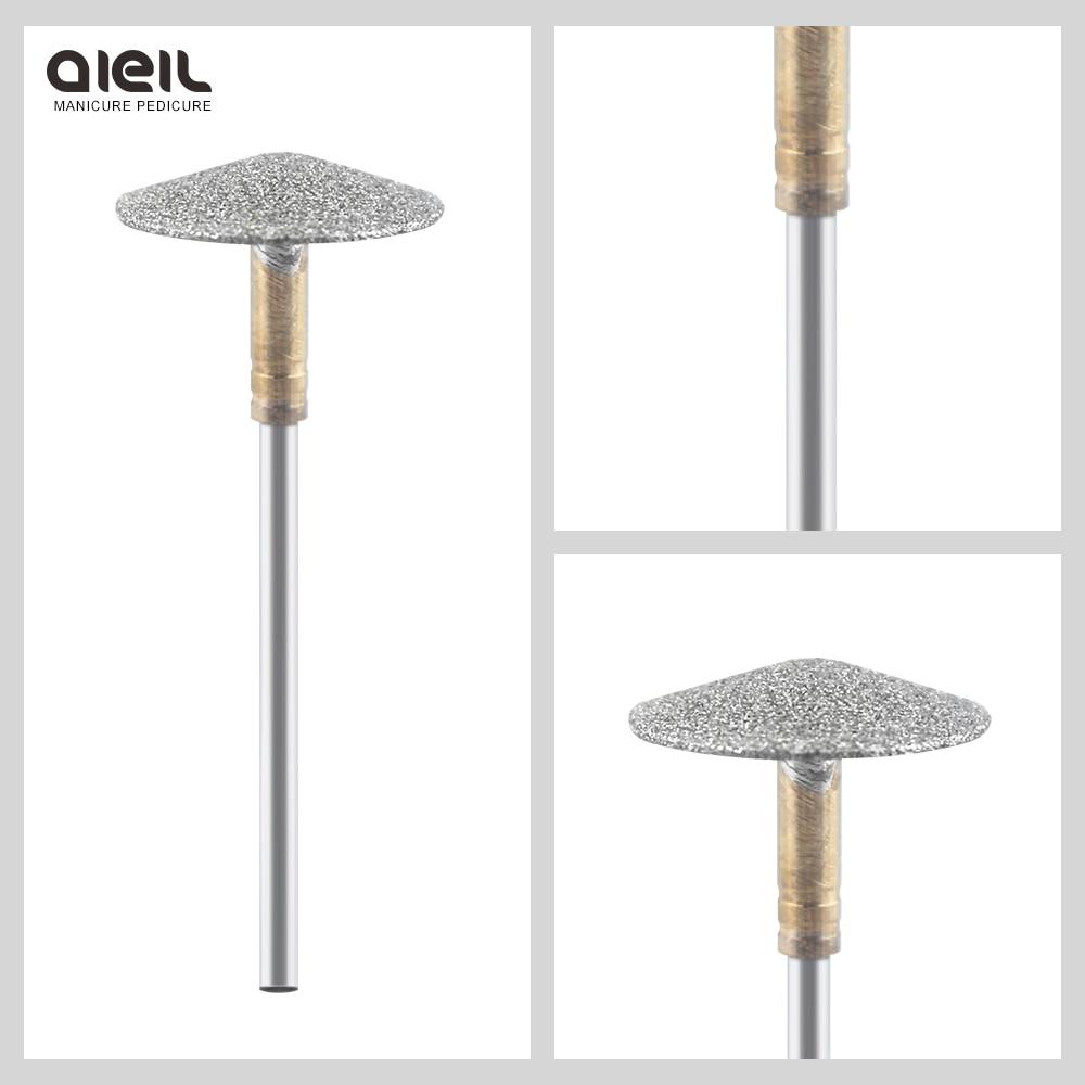 Umbrella Diamond Nail Drill Bits Pedicure 3/32