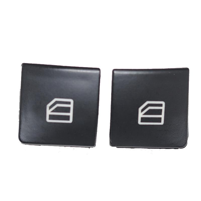 2 шт., крышка для оконного выключателя, кнопка включения, крышка консоли для Mercedes Benz C Class W204 S204 W212 A207 C207 S212