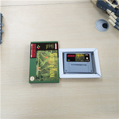 Geheim Van Mana Eur Versie Rpg Game Card Batterij Besparen Met Doos
