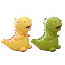 Dinosaur Shaped Piggy Bank for Children Lovely Christmas Gift for Kid Home Decor K1MA