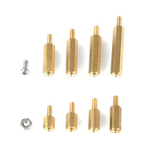 240pcs M2.5 Hex Brass Male-Female Standoff/Screw/Nut Assortment Kit For Raspberry-Pi