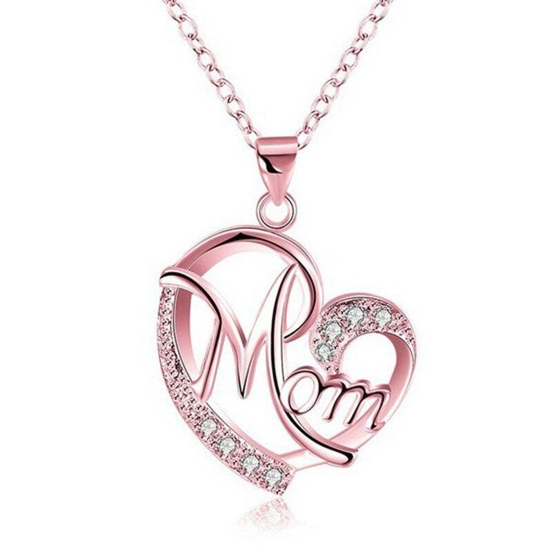 Новинка; Лидер продаж любовь мамы, ожерелье ювелирные изделия для мам и дочек, буквы, стильный элегантный кулон