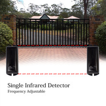 15m Outdoor INFRARED SAFETY BEAM INFRARED Reflective PHOTOCELL AUTOMATIC GATE DOOR GARAGE SHUTTER BARRIER SENSOR galo automated gate safe infrared photocell sensorand door 1 beam a pair no nc switch adjustable