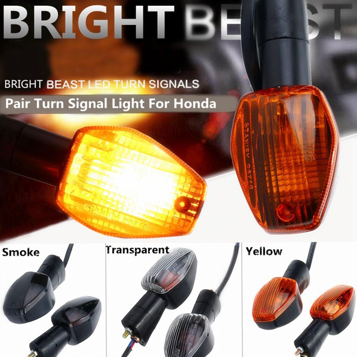 US 4x Motorcycle Mini Turn Signal Indicators Bulb Light for Honda CBR954RR 2002
