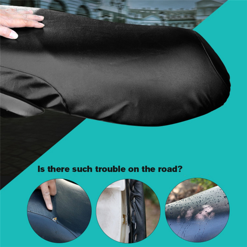 1PC Waterproof Motorcycle Sunscreen Seat Cover Prevent Bask In Seat Scooter Sun Pad Heat Insulation Cushion Protect