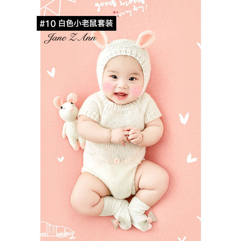 Jane Z Ann Baptism Clothes for Babies  Baby Photo Shoot Clothing Filming Props  Children 100 days/3-4 month  Theme costume 3