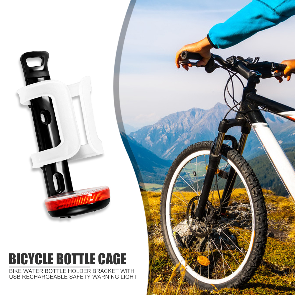 1 Durable Bicycle Bottle Cage Plastic Adjustable Mountain Bike Water Cup Holder