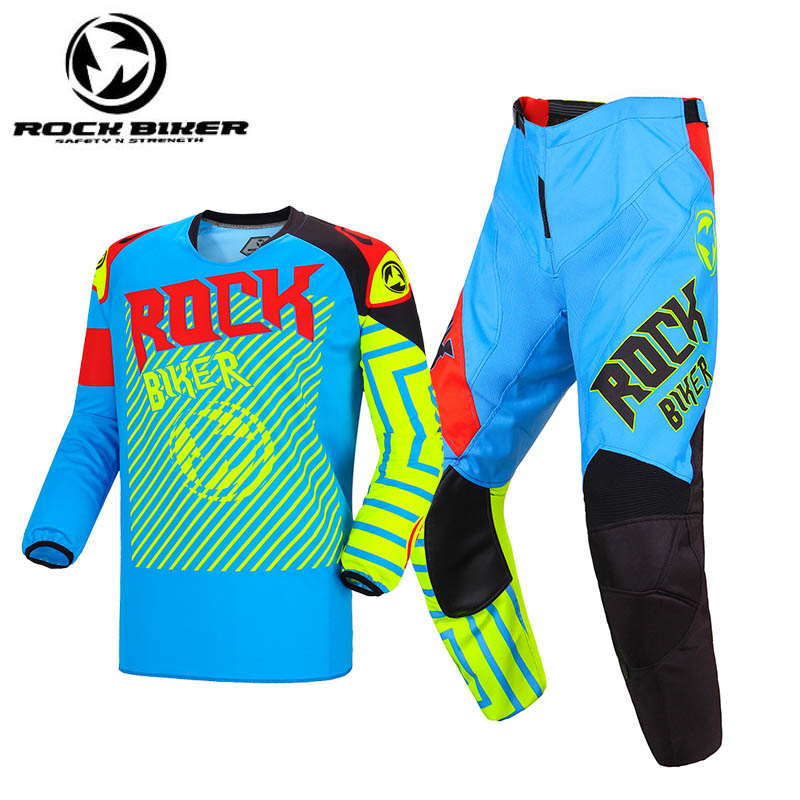 2019 New Motocross Jersey And Pants Racing MX Gear Suit Dirt Bike Combo Men Cycling Jersey Motorcycle Gear Set Traje Moto Hombre