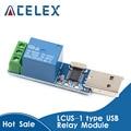 LCUS-1 Тип релейный модуль USB электронный Преобразователь PCB USB Интеллектуальный переключатель управления