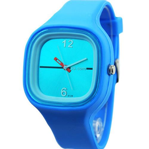 Men Women Waterproof Jelly Silicone Watches Fashion Men Sport Watch Women Square Dial Mother Of Pearl Dial Quartz Simple Watch