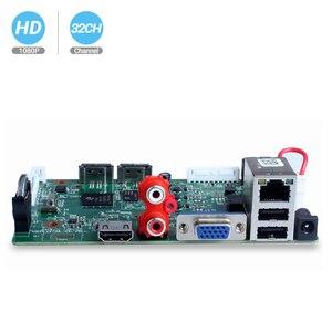 Камера видеонаблюдения BESDER, 32/25 каналов, 1080P, 5 МП, NVR, 2 порта SATA, ONVIF, IP