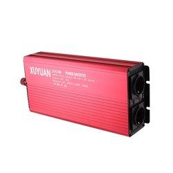 Newest12v 220v 2000w inwerter samochodowy transformator konwerter w Inwertery samochodowe od Samochody i motocykle na