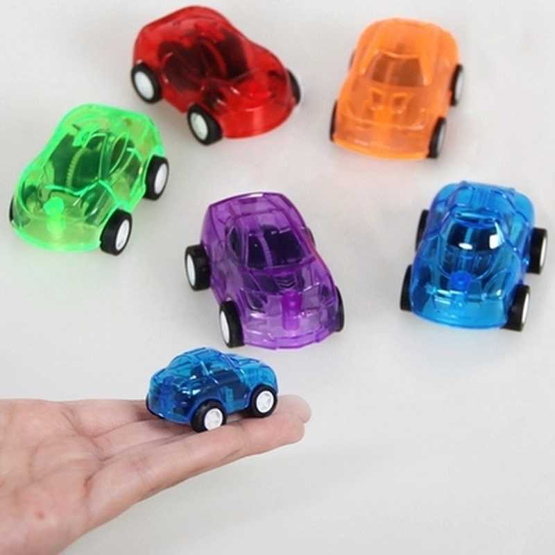 2Pcs Pull Back Racer Mini Car Kids Birthday Party Toys Favor Supplies for Boys Giveaways Pinata Fillers Treat Goody Bag