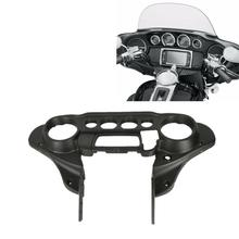 Motorcycle Speedometer Cover Front Inner Fairing Cowl For Harley Touring Electra Glide Ultra 14-20 19 motorcycle accessories front inner accent fairing buffer cushion pad harley electra street glide ultra custom