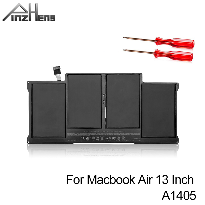 PINZHENG Laptop <font><b>Battery</b></font> For <font><b>Apple</b></font> <font><b>MacBook</b></font> <font><b>Air</b></font> 13 Inch <font><b>A1466</b></font> 2012 Year A1369 2011 2012 <font><b>2013</b></font> 2014 Production Replace A1405 A1496 image