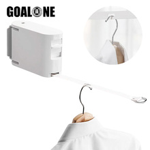 GOALONE Retractable Clothesline with Adjustable Rope Heavy Duty Drying Rack Travel Laundry Rope Hotel Indoor Clothes Drying Line