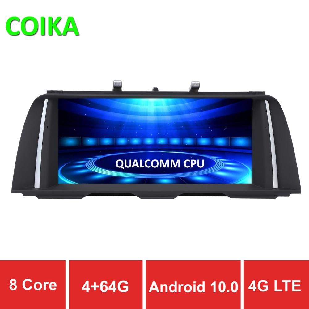 COIKA 8 Core <font><b>Android</b></font> 10 System Car GPS Navi Stereo For <font><b>BMW</b></font> F10 F11 IPS Anti-glare Screen WIFI 4G LTE BT 4+64G RAM SIM USB Video image
