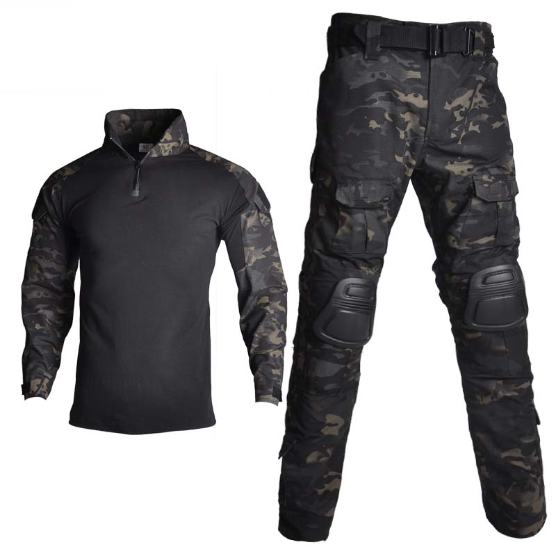 Outdoor airsoft paintball kleding militair schietuniform tactische - Jacht - Foto 4